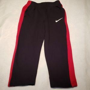 Boys NIKE Fleece Side Striped Sweat Pants